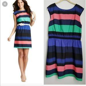 LOFT Dresses - Ann Taylor loft multi color summer dress small